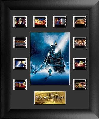 Polar Express Mini Montage FilmCell Numbered Limited Edition COA