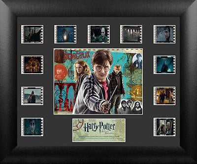 Harry Potter & the Deathly Hallows S1 Mini Montage Film Cell Limited Edition COA