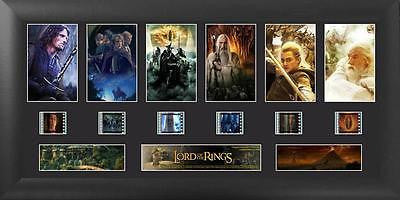 Lord of the Rings Trilogy Deluxe Film Cell Numbered Limited Edition COA