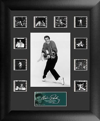Elvis Presley S14 11 X 13 Mini Montage Film Cell Numbered Limited Edition COA
