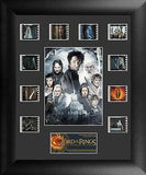 Lord of the Rings Return of King Mini Montage Film Cell Limited Edition COA