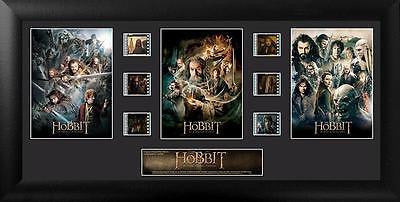 HOBBIT TRILOGY 20 X 11 FilmCell Numbered Limited Edition COA