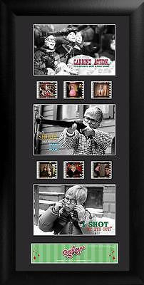 Christmas Story You'll Shoot Your Eye Out Trio Film Cell Limited Edition COA