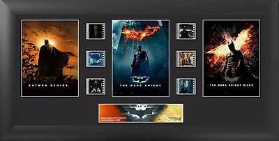 Batman The Dark Knight Trilogy 20 X 11 Film Cell Numbered Limited Edition COA