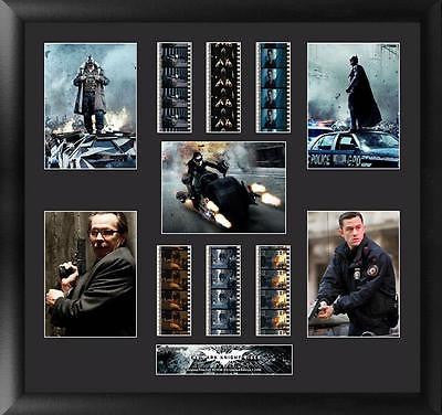 Batman The Dark Knight Rises Montage 20 X 19 Film Cell Limited Edition COA