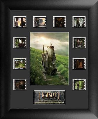 HOBBIT UNEXPECTED JOURNEY Film Cell Numbered Limited Edition COA