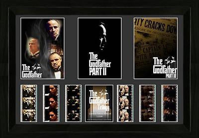 The Godfather Trilogy 18 X 14 Film Cell Numbered Limited Edition COA