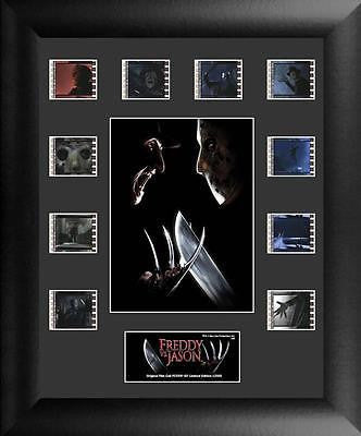 Freddy Vs Jason S1 13 X 11 Mini Montage Film Cell Numbered Limited Edition COA