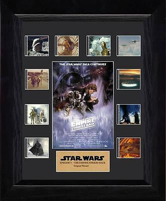 Star Wars Episode V Empire Strikes Back Film Cell Special Edition COA