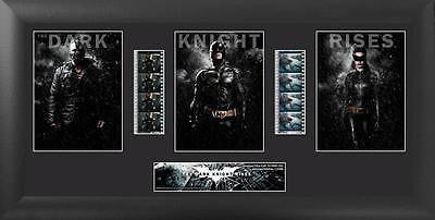 The Dark Knight Rises 20 X 11 Film Cell Limited Edition COA
