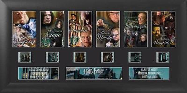 Harry Potter S1 Teachers Deluxe 20 X 11 Film Cell Numbered Limited Edition COA