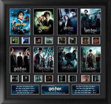 Harry Potter 1-7 Finale S3 Mixed Montage 20 X 19 Film Cell Limited Edition COA