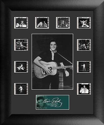 Elvis Presley S13 11 X 13 Mini Montage Film Cell Limited Edition COA