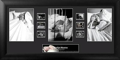 Marilyn Monroe Trio 20 X 11 Film Cell Limited Edition COA