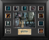Harry Potter & the Deathly Hallows Part 2 S1 Mini Montage 13 X 11 Film Cell Numbered Limited Edition COA