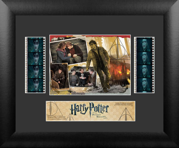 Harry Potter & the Deathly Hallows Part 2 S1 Double 13 X 11 Film Cell Numbered Limited Edition COA