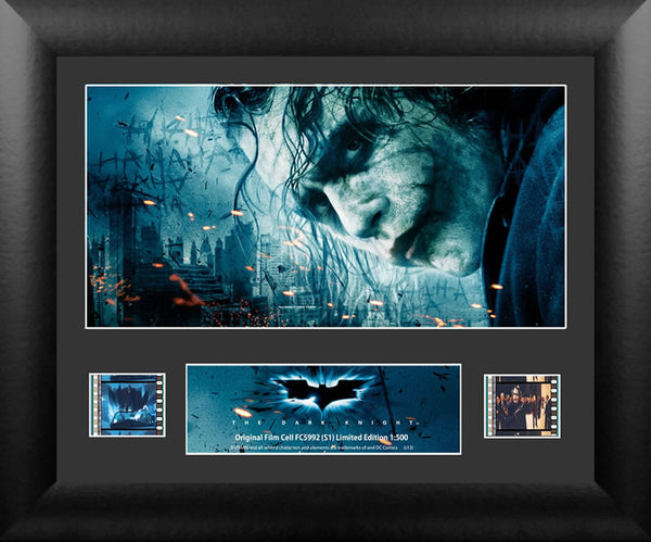 Batman The Dark Knight The Joker Single Numbered limited edition COA