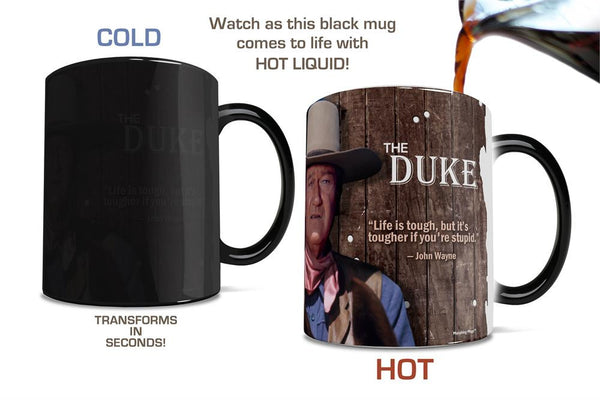 John Wayne (The Duke) Morphing Mugs™ Heat-Sensitive Mug