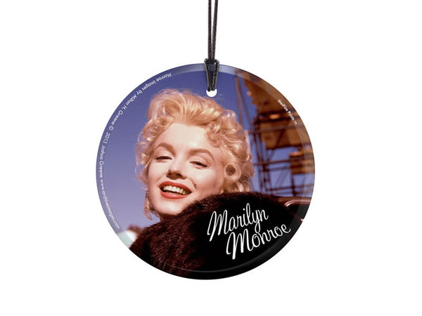 Marilyn Monroe (Bus Stop Movie Set) StarFire Prints™ Hanging Glass