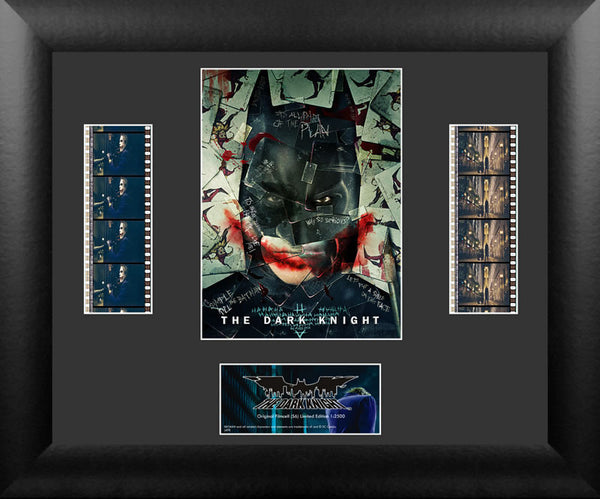 Batman The Dark Knight Why So Serious? Double Numbered Limited Edition COA