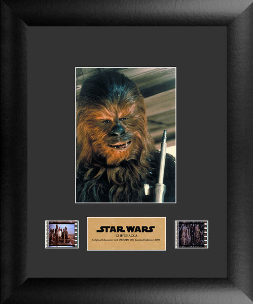 Star Wars Chewbacca (S1) Single Film Cell Numbered Limited Edition COA