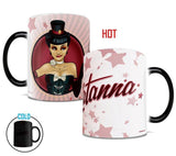 DC Comics Justice League™ (Zatanna™ Bombshell) Morphing Mugs™ Heat-Sensitive Mug
