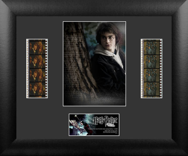 Harry Potter the Goblet of Fire S6 Double 13 X 11 Film Cell Numbered Limited Edition COA