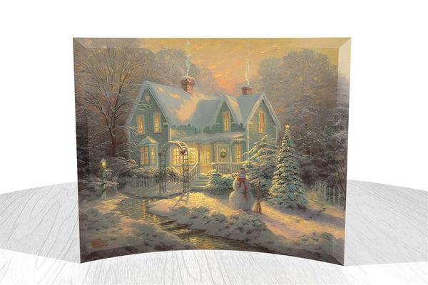 Thomas Kinkade (Blessings of Christmas) StarFire Prints™ Curved Glass