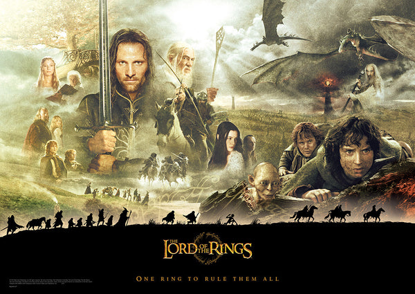 The Lord of the Rings™ (The Journey) MightyPrint™ Wall Art