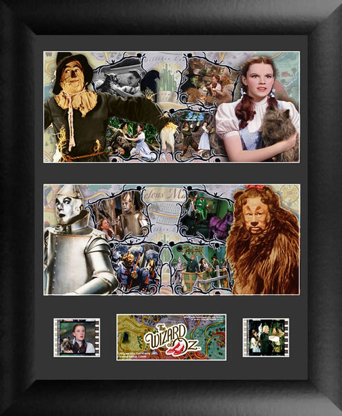 Wizard of Oz Double 13 X 11 Framed Film Cell Numbered Limited Edition COA