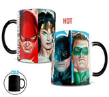 DC Comics Justice League™ (The Justice League) Morphing Mugs™ Heat-Sensitive Mug