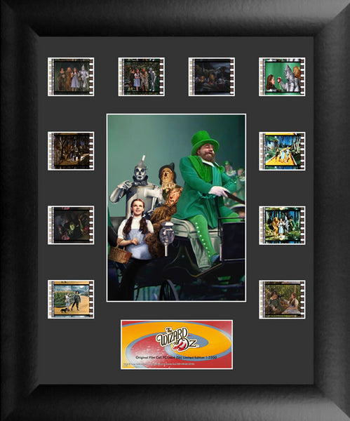 Wizard Of Oz Mini Montage 11 X 13 Film Cell Framed Limited Edition COA