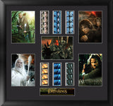 Lord of the Rings Trilogy Montage 20 X 19 Film Cell Numbered Limited Edition COA