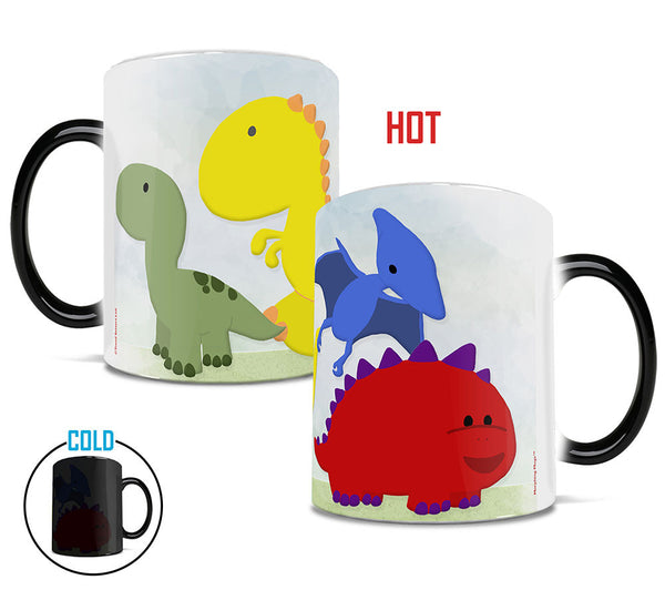 Dino Lineup Morphing Mugs™ Heat-Sensitive Mug