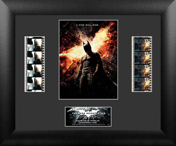 Batman The Dark Knight Rises Double Film Cell Numbered Limited Edition COA