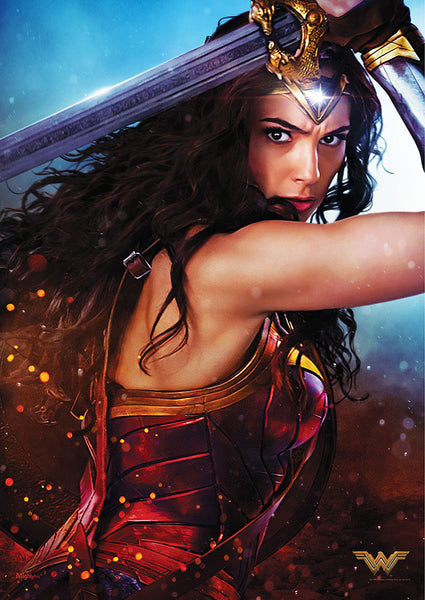 Wonder Woman™ (The Sword of Justice) MightyPrint™ Wall Art