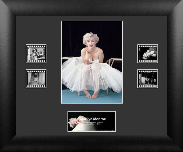Marilyn Monroe Double 13 X 11 Film Cell Limited Edition COA