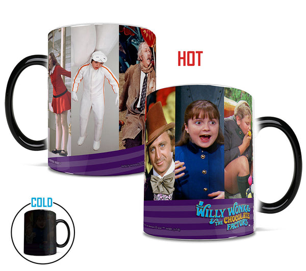 Willy Wonka and the Chocolate Factory (Characters) Morphing Mug