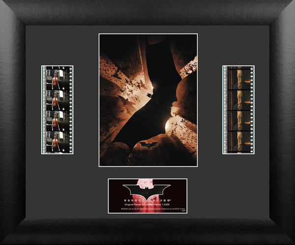 Batman Begins S1 Double Film Cell Numbered Limited Edition COA