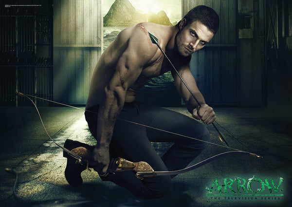 Arrow (Oliver Squatting) MightyPrint™ Wall Art