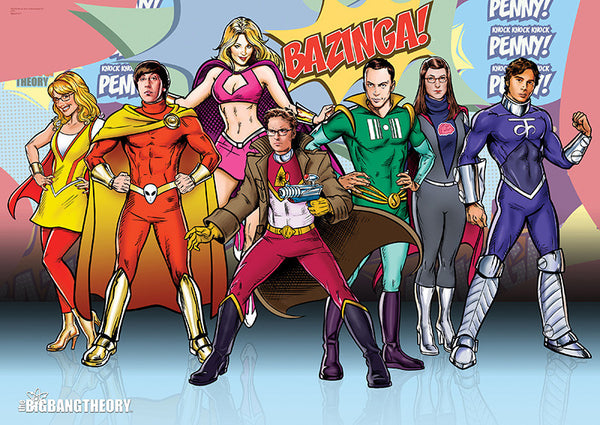 The Big Bang Theory™ (Superpowers) MightyPrint™ Wall Art