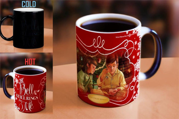 The Polar Express™ (Bell) Morphing Mugs™ Heat-Sensitive Mug