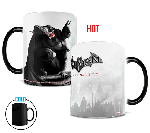 Batman Arkham City™ (Batman) Morphing Mugs™ Heat-Sensitive Mug