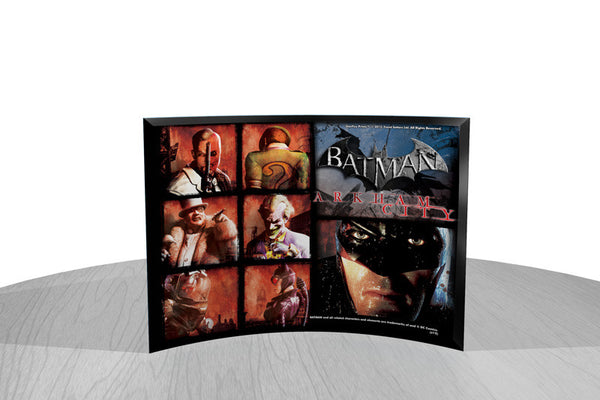 Batman: Arkham City™ (Heroes and Villians) Starfire Prints™ Curved Glass