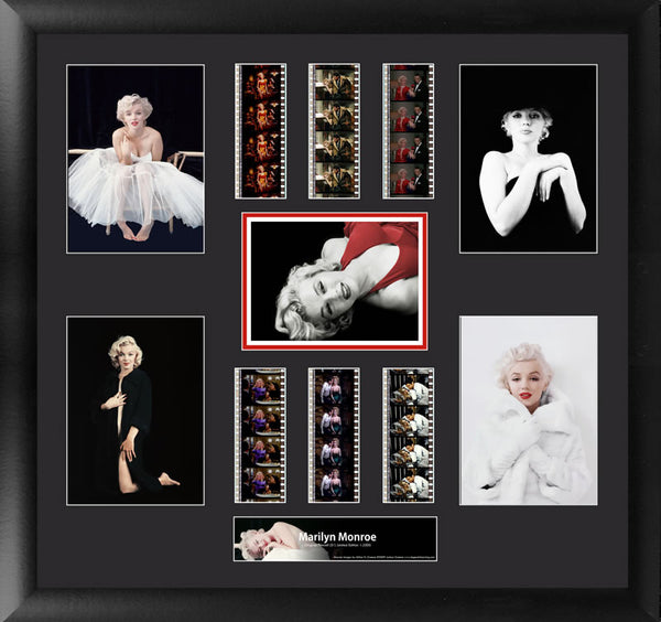 Marilyn Monroe Montage 20 X 19 Film Cell Numbered Limited Edition COA