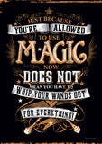 Harry Potter™ (Whip Out Your Wand) MightyPrint™ Wall Art