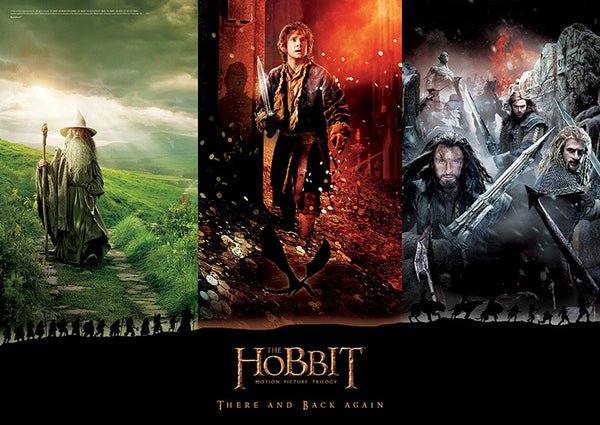 THE HOBBIT TRILOGY (There and Back Again) MightyPrint™ Wall Art