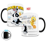 Looney Tunes™ (Sylvester and Tweety) Morphing Mugs™ Heat-Sensitive Mug