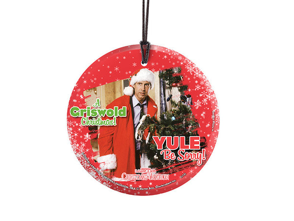 National Lampoon's Christmas Vacation (Yule Be Sorry) StarFire Prints™ Hanging Glass