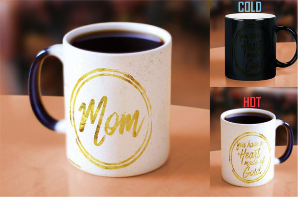 Mothers Day (Heart of Gold) Morphing Mugs Heat-Sensitive Mug